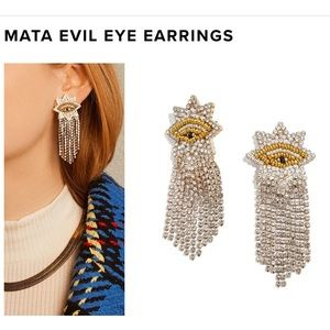 Bauble bar evil eye earrings